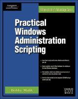 Practical Windows Administration Scripting