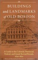 Buildings and Landmarks of Old Boston