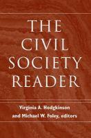 The Civil Society Reader