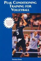 Peak Performance Training for Volleyball