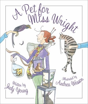 Cover image for A Pet for Miss Wright