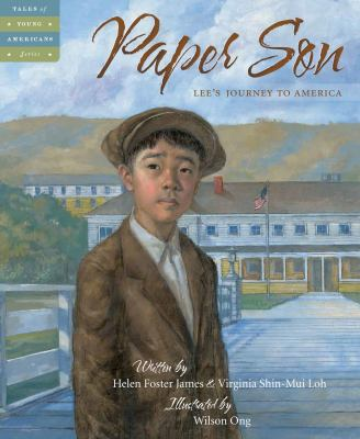 Paper Son: Lee\'s Journey to America(book-cover)