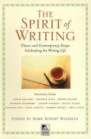 The Spirit of Writing