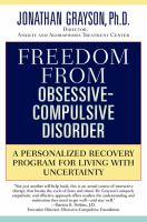 Freedom From Obsessive-compulsive Disorder