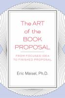 The Art of the Book Proposal