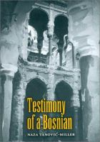 Testimony Of A Bosnian