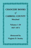 Chancery Books of Carroll County, Maryland