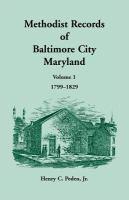 Methodist Records of Baltimore City, Maryland