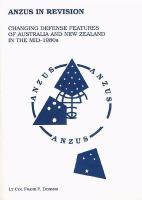 ANZUS in Revision: Changing Defense Features of Australia and New Zealand in the Mid-1980s
