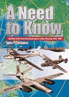 Need to Know: The Role of Air Force Reconnaissance in War Planning, 1945-1953