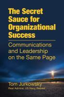 The Secret Sauce for Organizational Success