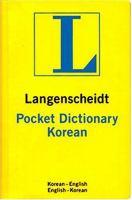 Langenscheidt Pocket Korean Dictionary