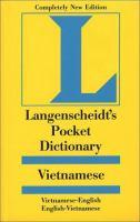 Langenscheidt's Pocket Vietnamese Dictionary