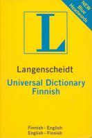 Langenscheidt Universal Finnish Dictionary