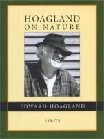 Hoagland on Nature
