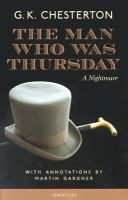 Cover of The Man Who Was Thursday