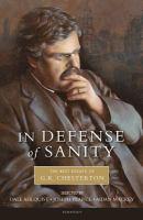 In Defense of Sanity