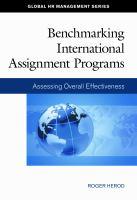 Benchmarking International Assignment Programs