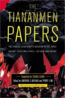 The Tiananmen Papers