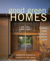 Good Green Homes