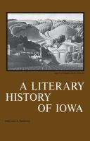 A Literary History of Iowa