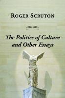 Politics of Culture Other Essays