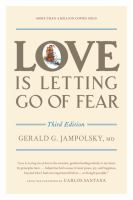 Love Is Letting Go of Fear
