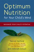 Optimum Nutrition for your Child's Mind