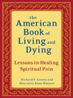 American Book of Living and Dying