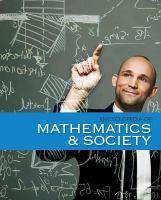 Encyclopedia of Mathematics and Society (Mathematics & Society)