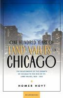 One Hundred Years of Land Values in Chicago