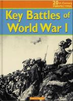 Key Battles of World War I