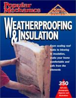 Weatherproofing and Insulation