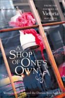 A Shop of One's Own
