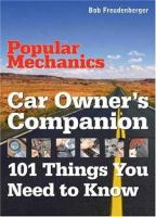 Popular Mechanics Car Owner's Companion