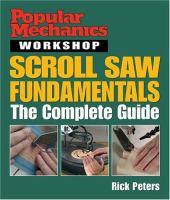 Scroll Saw Fundamentals