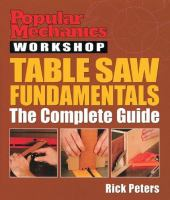 Table Saw Fundamentals
