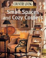 Small Spaces and Cozy Corners