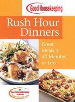 Good Housekeeping Rush Hour Dinners