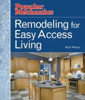 Remodeling for Easy-access Living