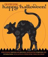 Country Living Happy Halloween!