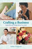 Crafting A Business