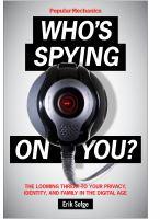 Popular Mechanics Who's Spying on You?