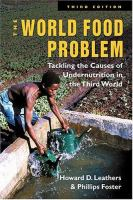 The World Food Problem