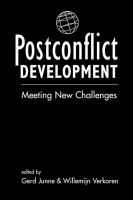 Postconflict Development