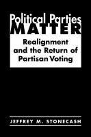Political Parties Matter