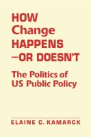 How Change Happens-- or Doesn't