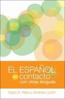 El español en contacto con otras lenguas