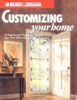Customizing your Home