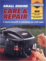 Small Engine Care & Repair